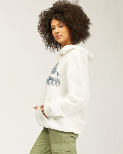 1 Shadow Views Hoodie White J6513SND Billabong