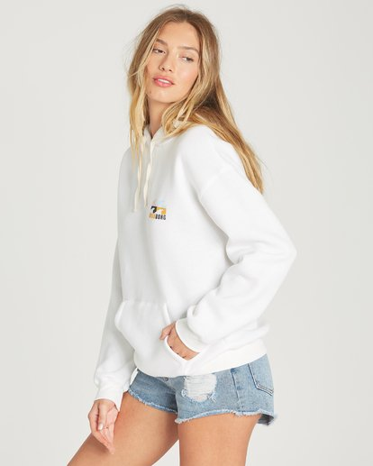 1 Beach Waves Hoodie White J651TBBE Billabong