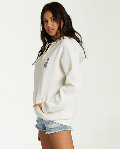 1 Aloha Fleece White J651VBAL Billabong