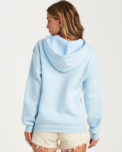 2 Good Vibes Hoodie Blue J651VBGS Billabong