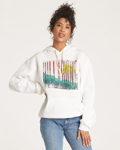 0 Break Of Day Hoodie White J651WBBR Billabong