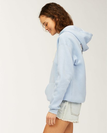 1 Flower Sweatshirt Blue J651WBFR Billabong