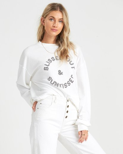 1 Blissed Out Fleece  J6521BBL Billabong