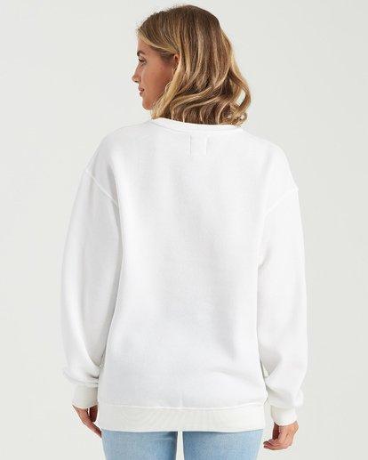 5 Heritage Arc Sweatshirt White J6523BHE Billabong