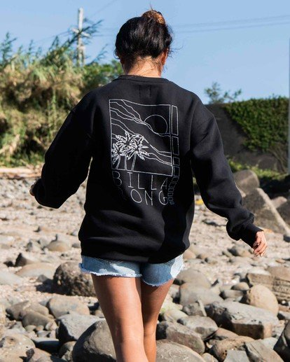 1 Local Surf Spot Sweatshirt Black J6523BLO Billabong