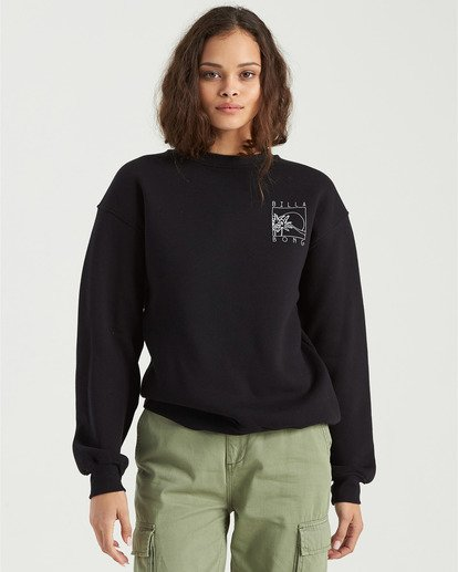 2 Local Surf Spot Sweatshirt Black J6523BLO Billabong