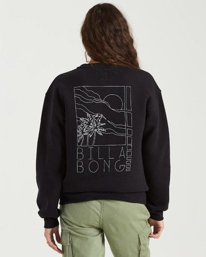 7 Local Surf Spot Sweatshirt Black J6523BLO Billabong