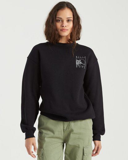 5 Local Surf Spot Sweatshirt Black J6523BLO Billabong