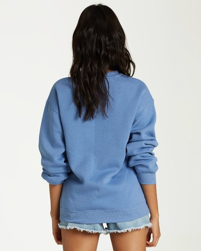 2 In The Moment Fleece Blue J652VBIN Billabong