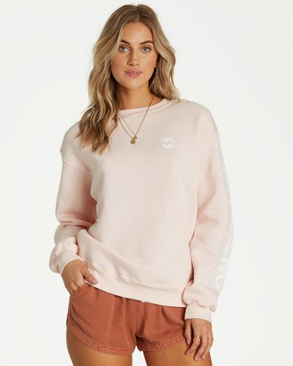 0 Legacy Fleece Pink J652VBLE Billabong