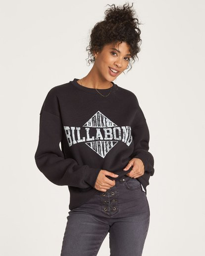 1 Headline Pullover Black J652WBHE Billabong
