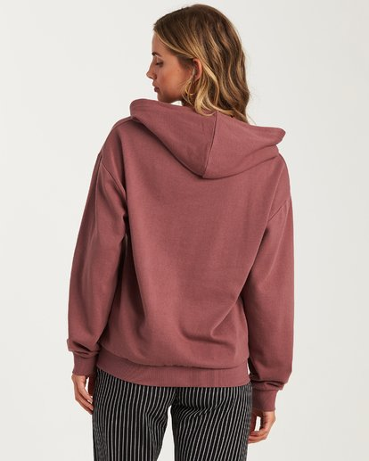 2 Let It Shine Fleece Hoodie Purple J654WBLR Billabong