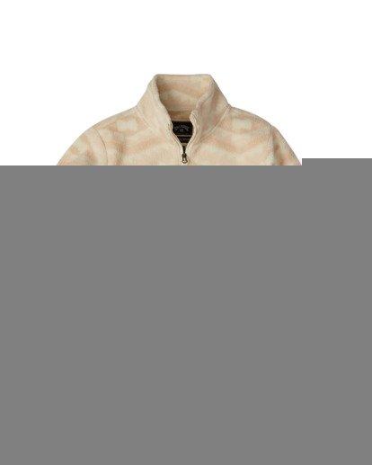 8 A/DIV Boundary Mock Neck Fleece Beige J6703BBO Billabong