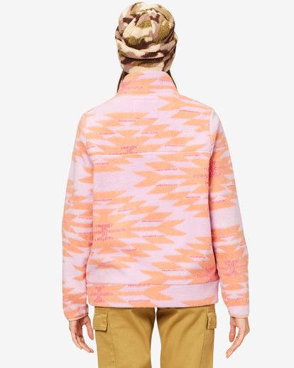 5 A/Div Boundary Mock Half-Zip Pullover Multicolor J6703BBO Billabong