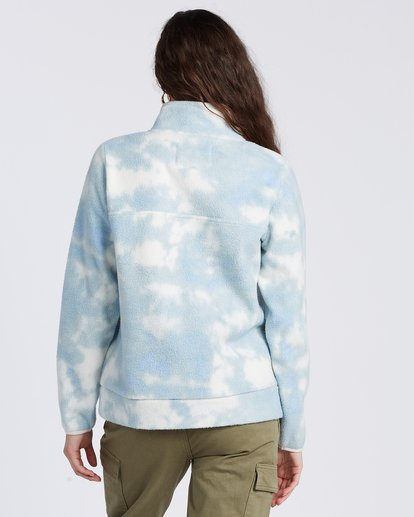 6 A/DIV Boundary Mock Neck Fleece Blue J6703BBO Billabong