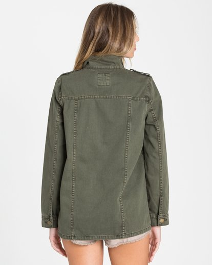 3 Right Left Right Military Jacket  J702QBRI Billabong