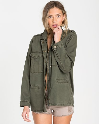0 Right Left Right Military Jacket  J702QBRI Billabong