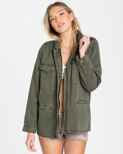 4 Right Left Right Military Jacket  J702QBRI Billabong