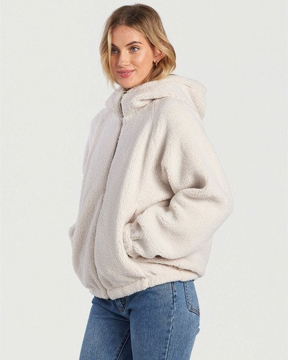 1 A/DIV Boundary Reversible Fleece Jacket Beige J7031BBO Billabong