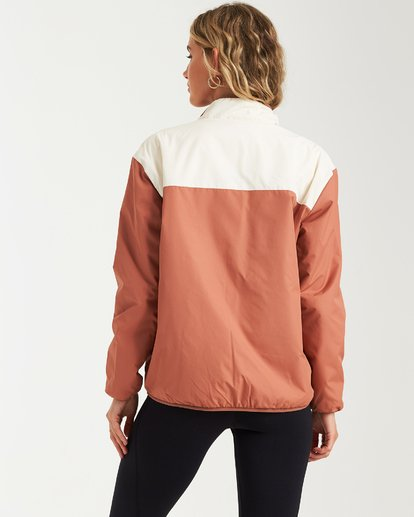 2 A/DIV Atlas Reversible Jacket Brown J706WBAT Billabong
