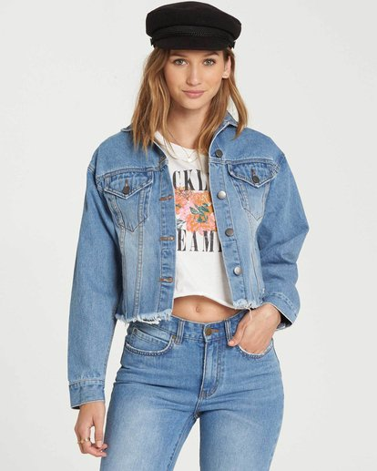 0 Good Day Denim Jacket  J707QBGO Billabong