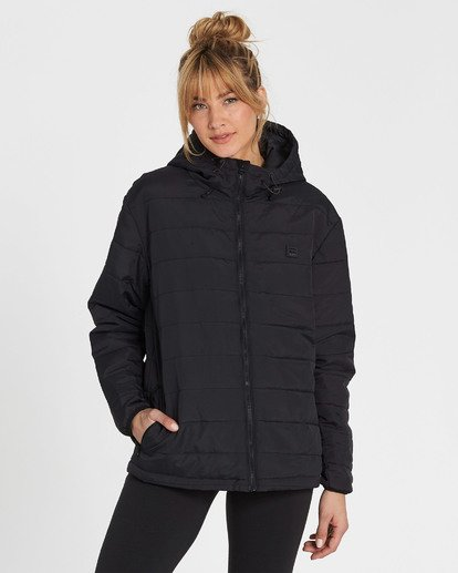 4 A/DIV Transport Puffer Jacket  J714SBTR Billabong