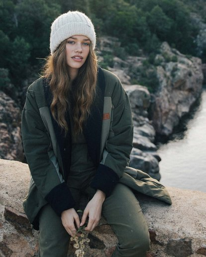 0 Queens Jacket Green J720VBQU Billabong