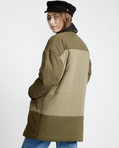 4 Queens Jacket Green J720VBQU Billabong