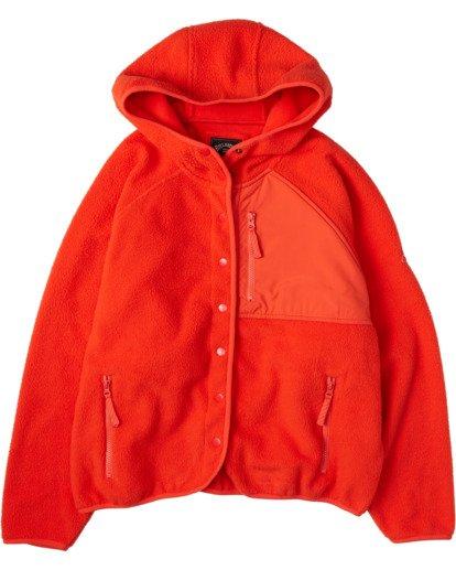 6 A/DIV Tofino Snap Front Jacket Red J7703BTO Billabong