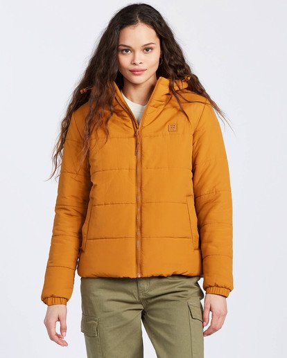 1 A/Div Transport Puffer Jacket Multicolor J7733BTR Billabong