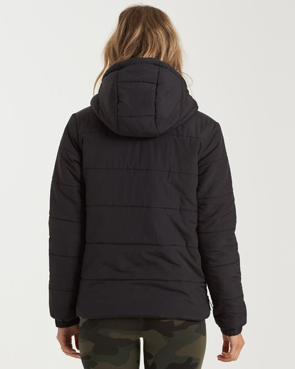 5 A/Div Transport Puffer Jacket Black J7733BTR Billabong