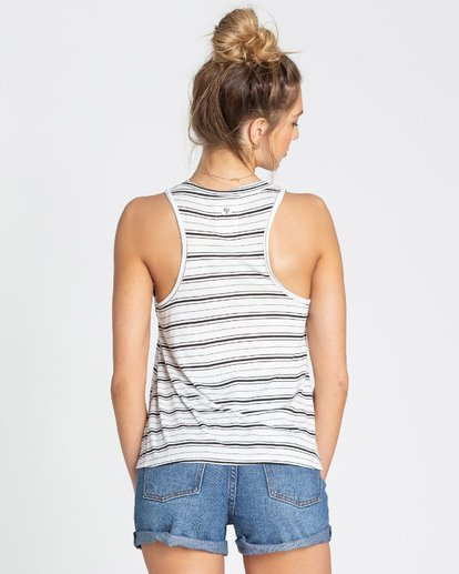 2 Let Loose Tank Top White J902TBLE Billabong