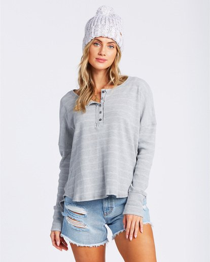 1 Any Day Top Grey J903VBAN Billabong