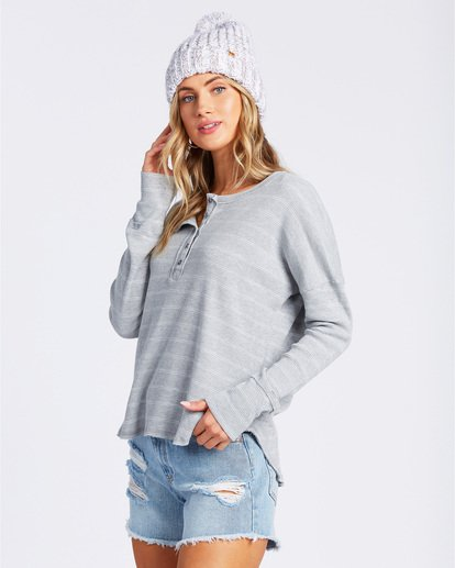 2 Any Day Top Grey J903VBAN Billabong
