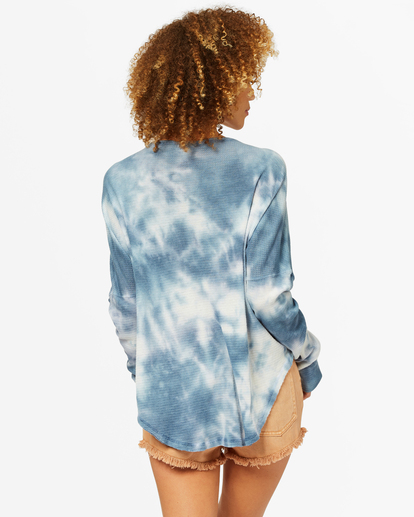 2 Any Day Thermal Long Sleeve T-Shirt Blue J903VBAN Billabong