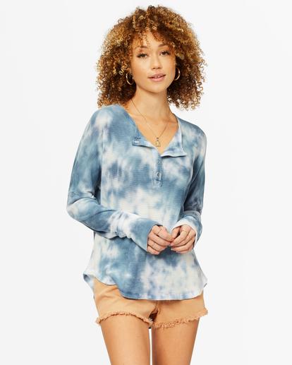 0 Any Day Thermal Long Sleeve T-Shirt Blue J903VBAN Billabong