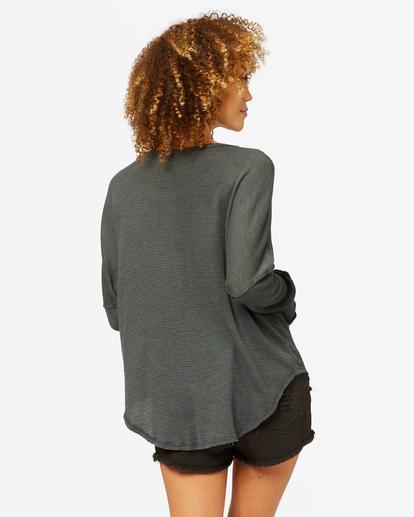 2 Any Day Thermal Long Sleeve T-Shirt Black J903VBAN Billabong