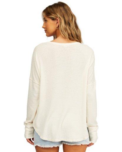 2 Any Day Thermal Long Sleeve T-Shirt White J903VBAN Billabong