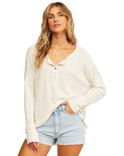 0 Any Day Thermal Long Sleeve T-Shirt White J903VBAN Billabong