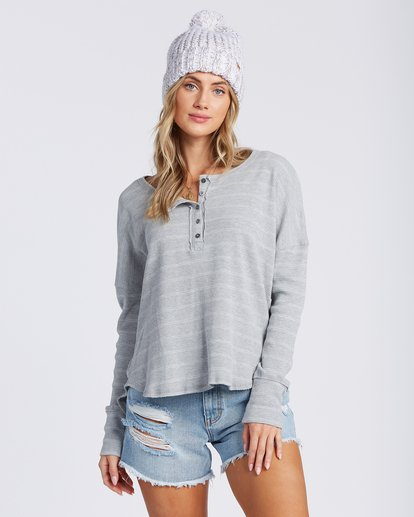 4 Any Day Top Grey J903VBAN Billabong