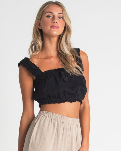 1 Sweet Nights Top Black J906UBSW Billabong