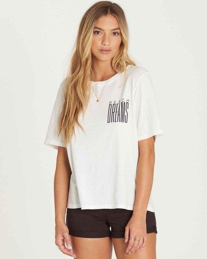 1 Take Back Lace-Up Vintage T-Shirt  J909PBTA Billabong