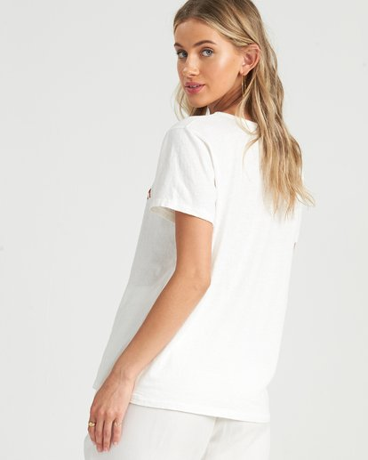 3 Eco Tee Top White J9111BEC Billabong