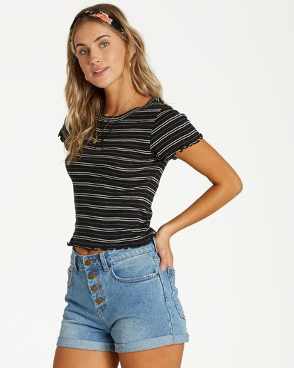 1 Baby Baby Top Black J912VBBA Billabong