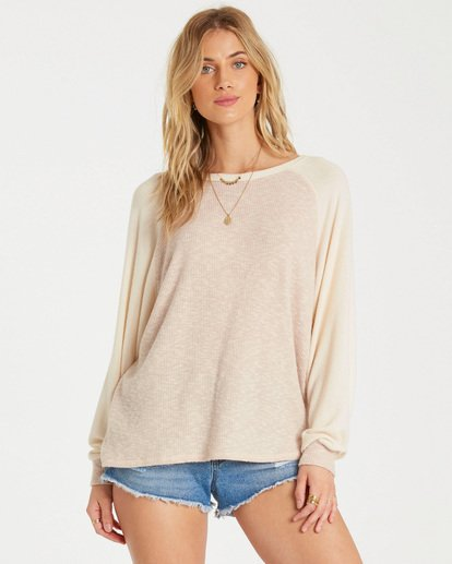 0 Head Start 2 Top Beige J912WBHE Billabong