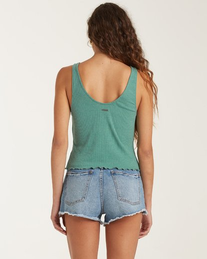 2 Find A Way Top Green J9141BFI Billabong