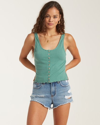 0 Find A Way Top Green J9141BFI Billabong