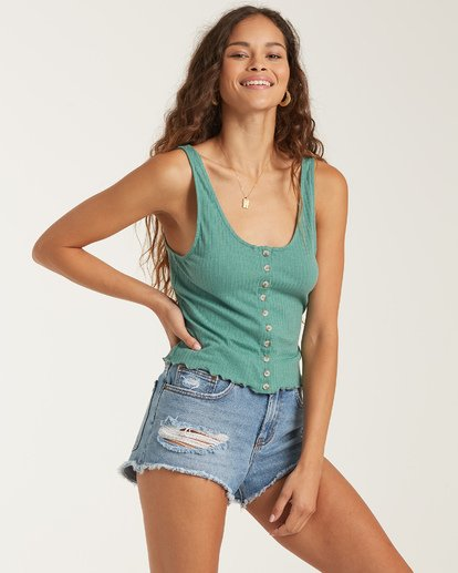 1 Find A Way Top Green J9141BFI Billabong