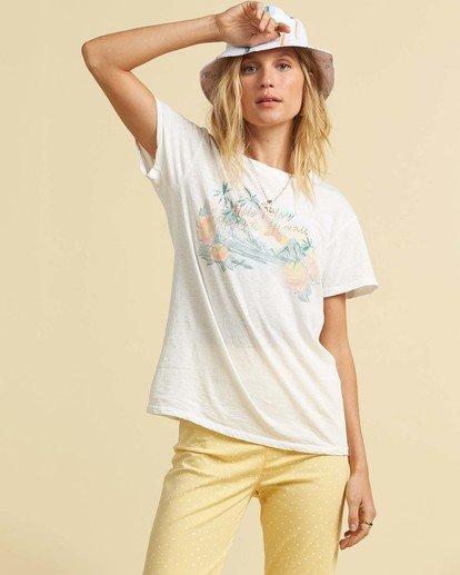 1 Salty Blonde Not A Tourist T-Shirt Black J9173BNO Billabong