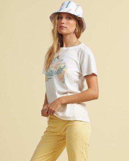 2 Salty Blonde Not A Tourist T-Shirt Black J9173BNO Billabong